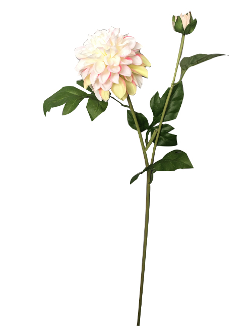 artificial Dahlia silk dahlia artificial dahlia branch for home decors