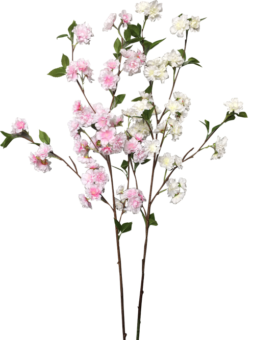 artificial cherry spring blossom branch for home party wedding bouquet decors