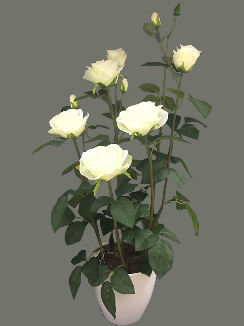 artificial rose silk rose fake rose flowers for wedding decors