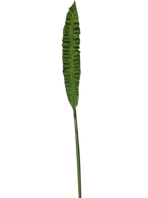 real touch green leaf 87.6cm tall