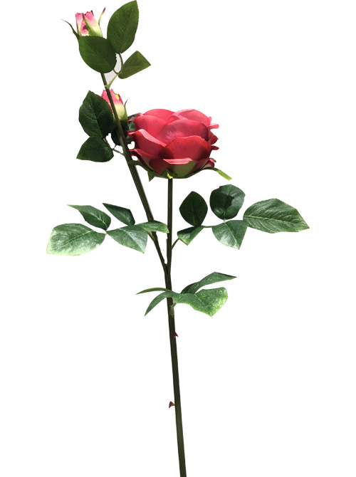 artificial english cabbage rose flower stem